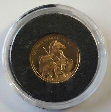TÜRKEI: 7500000 LIRA 1999, PFERD VON TROJA, GOLD, (Shu1/029), PP.