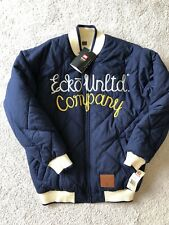 Ecko Unltd NWT Mens Quilted Reversible Jacket Size Medium Ecko Unlimited
