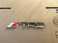 NEW TOYOTA TRD CHROME 3M SPORT TRUNK TAILGATE I FENDER EMBLEM LOGO DECAL