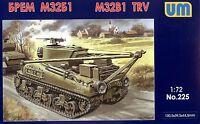 UM 1/72 225 WWII US M32B1 Tank Recovery Vehicle