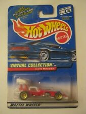 Hot Wheels Virtual Collection Red Super Modifier Tall Card #158 (017-2)