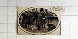 1936 Distributing Refreshments During Sale Of Wood Nobottle Wood Northampton