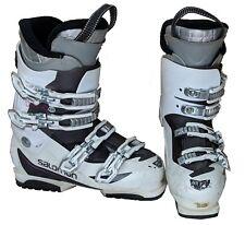 Salomon Divine R60 Women's Ski Boots - Mondo 26.5 White/Gray/Blk - USED