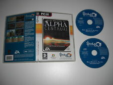 Alpha Centauri COMPLETE inc Base Game + ALIEN CROSSFIRE Add-On Pack Pc Cd SO