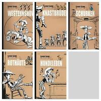 Lucky Luke Edition Sammlung Band 1-5 zum AUSSUCHEN oder KOMPLETT ungelesen/1A