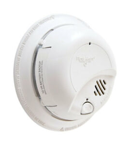 FIRST ALERT Hard-Wired with Battery Back-up Ionization Smoke Alarm 1039939