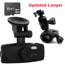 "32GB+HD 1080P G1WH 2.7"" Car Dash DVR Camera Video Cam+ Rearview Mirror Bracket"