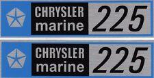 2 CENTURY BOAT~LYMAN~CHRYSLER MARINE 318/225 HP VALVE COVER ENGINE DECALS~MOPAR