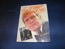 6 MILLIONEN DOLLAR MANN BUCH DIN A4 VIELE BILDER 1979 MIT FOTOS & INTERVIEW RAR