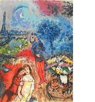 """Marc Chagall       """"Serenade""""     Lithograph on Paper"""