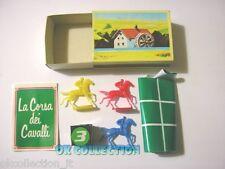 MULINO BIANCO scatolina anni '80_ LA CORSA DEI CAVALLI (sorpresina 32)