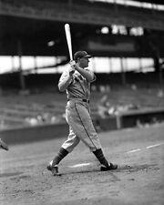 New York Giants JOHNNY MIZE Glossy 8x10 Photo Baseball Print Batting Poster