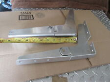 "set of 2 hinges for boat seat  8"" X 10.25"" 1 set folding aluminum hinges helsmam"
