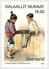 greenland 2020 groenland SEPAC Artwork in National Collection CHILD 1v mnh