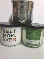 Bath & Body Works White Barn Scented 3 Wick Candles