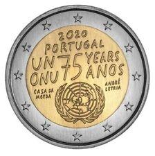 Portugal 2020 - 75 jaar Verenigde Naties - 2 euro CC - UNC