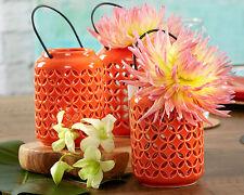 24 Coral Tropical Ceramic Lanterns Beach Wedding Centerpiece Decorations Q37023