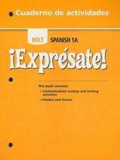 !Expresate!: Cuaderno de actividades Student Edition Level 1A