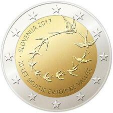manueduc  ESLOVENIA 2017  2 Euros Con.10º ANIVERSARIO DEL EURO EN ESLOVENIA UNC