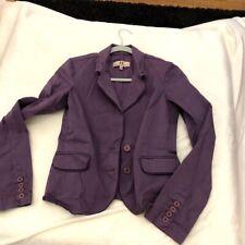 Juicy Couture Jeans Purple Jacket Juniors M Medium