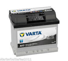 SEAT, SKODA, VOLKSWAGEN (VW) Car Battery TYPE 063 - VARTA A17 - 12V 41AH 360A