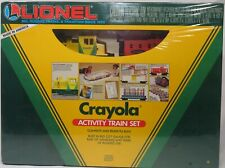 LIONEL 6-11813 CRAYOLA ACTIVITY TRAIN SET SEALED NIB