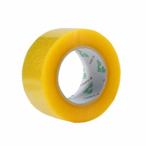Transparent sealing duct tape 2.2in width 1in meat thickness 65ft long