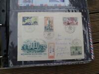 1961 BRNO CZECHOSLOVAKIA REGISTERED MEZINARODIN VELETRH  STAMPS COVER