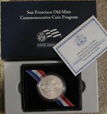 2006 SAN FRANCISCO OLD MINT UNC SILVER DOLLAR COMMEMORATIVE