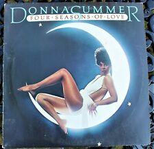 VG+ - DONNA SUMMER - FOUR SEASONS OF LOVE - CASABLANCA NBLP 7038 LP - FROM 1976