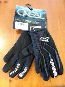 O'NEAL YOUTH ELEMENT OFF-ROAD GLOVES - BLACK SIZE 6 (0390-106) NS383