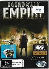 HBO Boardwalk Empire First Season DVD 5-Disc set with playing cards UNP