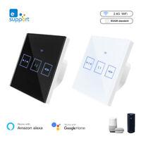 Smart Wifi Touch Control Switch Stepless Dimmer Work w//Amazon Alexa Ewelink~~UK
