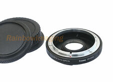 Canon FD Lens to Canon EOS Camera Adapter 1300D 1200D 1100D 1000D 760D 750D 700D