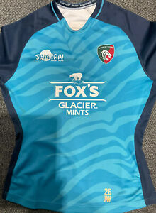 Leicester Tigers James Whitcombe Rugby 3XL Shirt