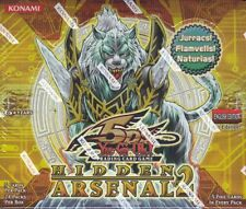 YUGIOH HIDDEN ARSENAL 2 1ST EDITION BOOSTER 12 BOX CASE BLOWOUT CARDS