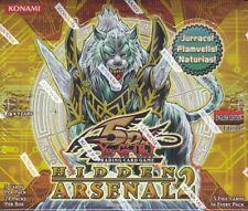 YUGIOH HIDDEN ARSENAL 2 BOOSTER 12 BOX CASE BLOWOUT CARDS