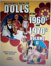 NEW 1960'S 1970'S DOLLS $$$ id PRICE VALUE GUIDE COLLECTOR'S BOOK