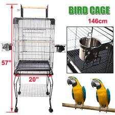 Nuovo Pappagallo Uccelli Gabbia Voliere Gabbie Gabbia Uccellini 51cm*51cm*146cm