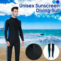 3mm Mens Full Wetsuit Surf Dive Swim Long Wet Suit Kayak Water Sports S-XXXL
