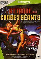 L'ATTAQUE DES CRABES GEANTS - RICHARD GARLAND /*/ DVD FANTASTIQUE NEUF/CELLO
