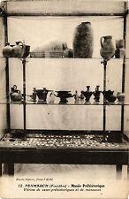 CPA  Penmarch (Finistére) Musée Préhistorique -Vitrine de vases ...(206533)