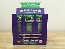 Crafe Away Slim Filters (for Roll Up Cigarettes) - 12 packs!