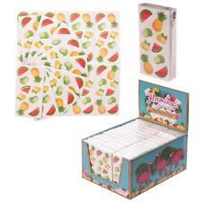 Mouchoirs en papier motif fruit tropical 20 scrapbooking collage loisirs créatif