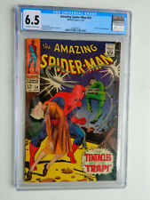 The Amazing Spider-Man #54 1967, Marvel, Silver Age, One Owner CGC 6.5 Graded