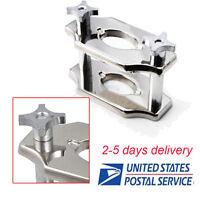 Standard Reline Jig Single Compress Press for dental Lab Chrome Coated Top