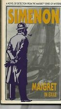 GEORGES SIMENON - Maigret In Exile P/B
