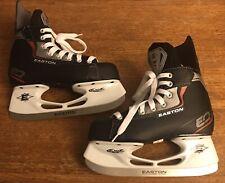 Easton EQ Synergy Bladz Stainless Steel Youth ice hockey skatesSize 4-Never Used