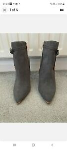 Ted Baker Grey Ankle Boots Uk Size 7
