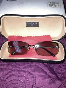 Ladies CHANEL Brown Sunglasses
